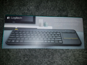 Logitech (k400+) Wireless Touch Keyboard - *NEW*