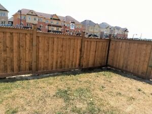 Fence Installations and Replacement - Reduced Price