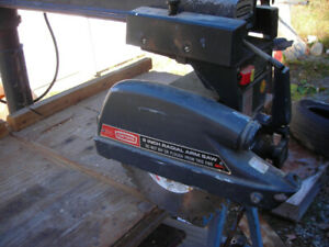 9inch Radial arm saw for sale $75.00