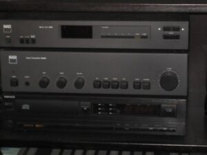 Vintage NAD  Stereo System  amplifier -Tuner - Preamp