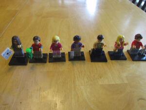 Big Bang Theory character 7pcs, Lego compatible