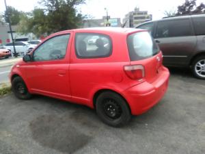 Toyota echo 2005 automatique 1500$