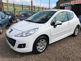 Peugeot 207 1.4 75 ACCESS WHITE FSH 46K INSURANCE FRIENDLY FOR YOUNG DRIVERS