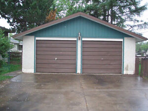 Heated, Secure Double Garage near Northgate Centre