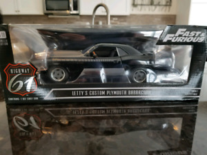 1:18 Diecast Highway 61 Fast and Furious Plymouth Barracuda