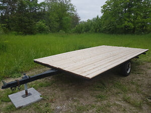 Deck-over trailer for sale