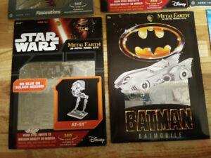 Selling Star Wars metal 3 d puzzles