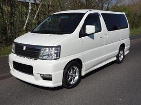 2002 Nissan Elgrand 3500 S-EDITION 4WD FRESH IMPORT 4dr