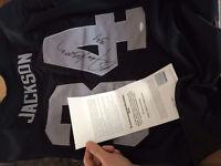 Bo Jackson autographed Raiders jersey