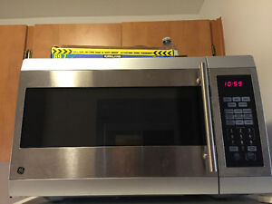 GE microwave oven: $40 fixed