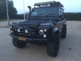 Land rover defender 110 TD5 double cab utility