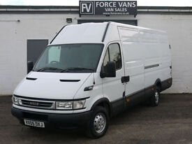 IVECO DAILY 35S12 HPI 2.3 AUTO LWB PANEL DELIVERY LOGISTICS WORK CAMPER VAN