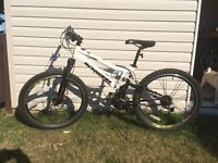 Schwinn full suspension bike