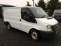 Ford Transit 2.2TDCi ( 100PS ) T260 SWB 2013 63 reg only 57507 miles