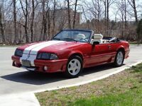 Nice Mustang convertible, trades welcome.