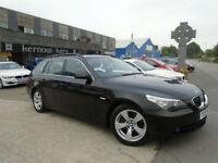 2005 (55) BMW 525 D TOURING ESATE SE Black Auto Low Mileage FSH