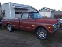 Looking for front and back bumpers for 68 to 72 Chevy truck