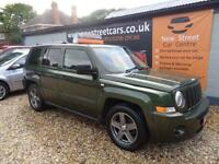 JEEP PATRIOT 2.0 LIMITED CRD, Green, Manual, Diesel, 2007 SERVICE HISTORY. LONG MOT.