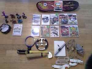 WII console games and accessories