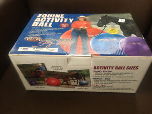 Equine Activity Ball - brand new - horse fun