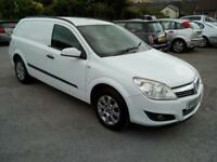 2008 VAUXHALL ASTRA VAN 1.7CDTi 16V CLUB, SIX SPEED, WHITE, VERY NICE CONDITION