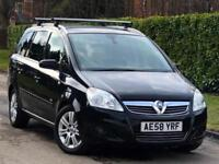 2008 Vauxhall Zafira 1.9CDTi Design***GENUINE LOW MILEAGE 59K + 7 SEATER**