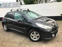 Peugeot 2009 207 Verve 1.4 Petrol Manual Hatch in Black