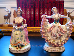 Figurines antique Made in Occupied Japan $40.00 pour les 2