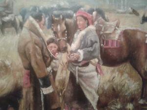 Tibetan Painting: Original