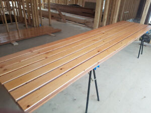 """2 1/2 """" X 5"""" x 17' TONGUE AND GROOVE KNOTTY FIR"""