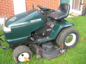 Wanted: CASH PAID FOR YOUR UNWANTED JOHN DEERE/CRAFTSMAN LAWN TR
