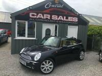 MINI 1.6 ( 116bhp ) COOPER CABRIOLET HIGH SPEC CONVERTIBLE FINANCE & PARTX AVALI