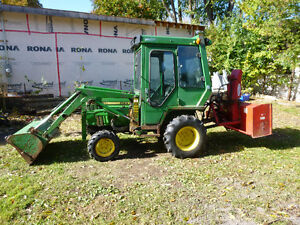 I am looking for a compact tractor