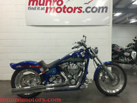 2005 Rolling Thunder Custom Softail 100 Rev Tech Aces and Eights