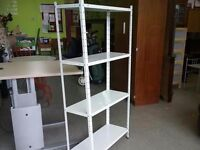 20% OFF ALL ITEMS SALE - White Metal Shelves - Can Deliver For £19