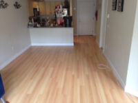 Laminate flooring installed for $1.29/sqft in the Vancouver area