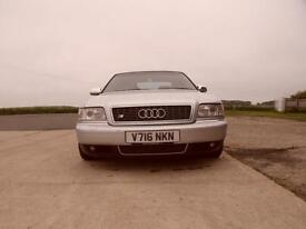 Audi S8 4.2 auto quattro 360bhp sallon full stainless exhaust system f/s/h