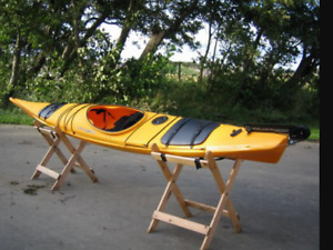 Kayak wilderness systems 150 capehorn sit in kayak paddle yak