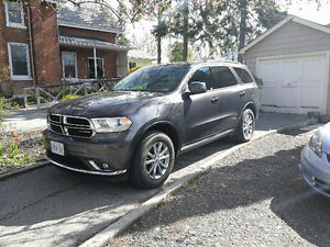 2017 Dodge Durango SXT, 10 days old, extended warranty
