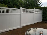 VINYL FENCE SUPPLY AND INSTALL