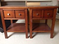 2 bedside tables - project / shabby chic