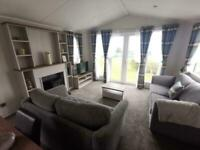 6 BERTH 2019 CARAVAN FOR SALE WITH A SEAVIEW AT THORNESS BAY CLOSE TO THE BEACH