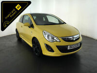 2012 VAUXHALL CORSA LIMITED EDITION 3 DOOR HATCHBACK SERVICE HISTORY FINANCE PX