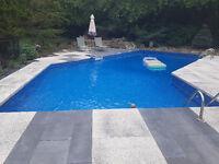 Ouverture de piscine