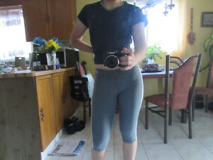 Athletic running tights (NIKE, UNDER ARMOUR)