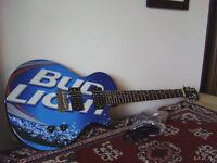 Bud Light Electric Guitar