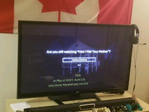 50 inch LG plasma screen TV