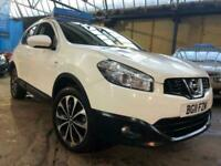 NISSAN QASHQAI 1.5 N-TEC DCI 5D DIESEL WHITE N TECH CHEAP TAX INSURANCE