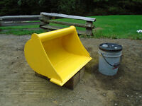 Cleanup Bucket for Mini Excavator
