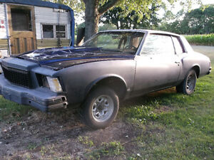 1979 Monte Carlo - Rolling Chassis